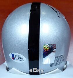Bo Jackson Autographed Signed Oakland Raiders Mini Helmet Beckett 113786