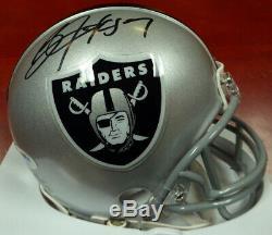 Bo Jackson Autographed Signed Oakland Raiders Mini Helmet Psa/dna 112502