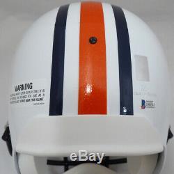 Bo Jackson Autographed Signed Riddell Auburn Full Size Helmet Beckett 138917
