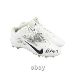 Bo Jackson Autographed White Nike Football Cleats BAS COA