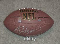 Bo Jackson & Deion Sanders Duel Signed Football with player holograms