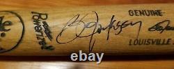 Bo Jackson Game Used Autographed Signed Baseball Bat Uncracked Royals