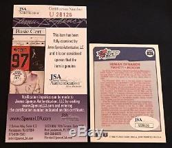 Bo Jackson & Kirby Puckett 1990 Fleer Human Dynamos Signed Autographed Card Jsa