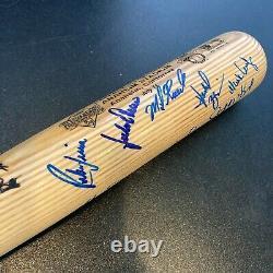Bo Jackson MVP Nolan Ryan 1989 All Star Game Team Signed Baseball Bat JSA COA