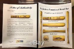Bo Jackson Promotional Model LVS Bat 1989 Royals Signed Autographed PSA & JSA