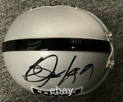 Bo Jackson Raiders Signed Autographed Mini Helmet JSA & BO Authenticated