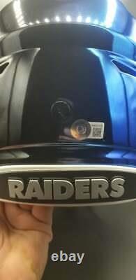 Bo Jackson Raiders/royals Signed Autographed Chrome Speed Flex Football Helmet