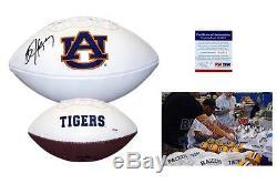 Bo Jackson SIGNED Auburn Tigers Logo Football PSA/DNA ITP Autograph