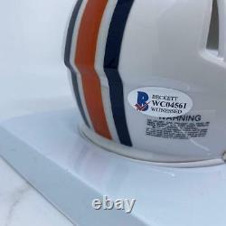 Bo Jackson Signed Auburn Tigers Speed Mini-Helmet