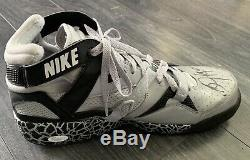 Bo Jackson Signed Nike Bo Knows Shoe Jsa & Exact Photo Match