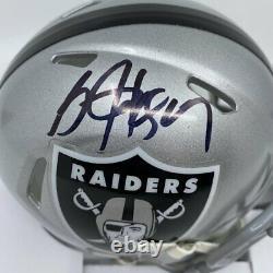 Bo Jackson Signed Oakland Raiders Speed Mini-Helmet