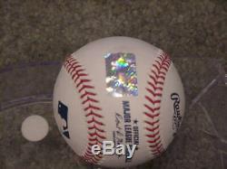 Bo Jackson Signed Official MLB Baseball Bo Jackson Player Hologram
