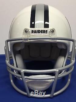 Bo Jackson Signed Raiders Custom Painted Al Davis Tribute F/S Helmet JSA