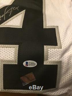 Bo Jackson Signed Raiders Jersey (Beckett COA)