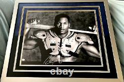 Bo Jackson autographed signed Knows BB/FB Nike 16x20 photo poster framed MOUNTED