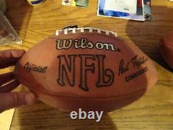 Bo Jackson signed Official NFL Football