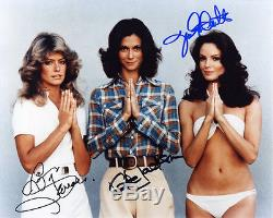 Charlie's Angels Photo Signed by Jaclyn Smith, Kate Jackson and Farrah Fawcett