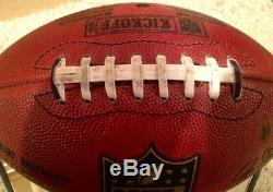 DeSean Jackson Game Used Signed 1st NFL Game Football PSA COA Eagles Redskins