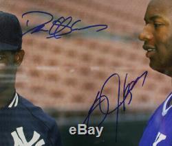 Deion Sanders & Bo Jackson Autographed/Signed Framed 16x20 Photo BAS 26862