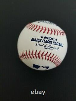 Deion Sanders/Bo Jackson Signed Autographed OML Baseball Players Holo