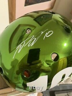 Desean Jackson Autographed Eagles Full Size Authentic Chrome JSA Authenicated