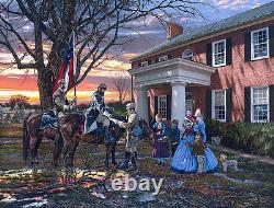 Evening Orders in Strasburg John Paul Strain Giclee Print Stonewall Jackson