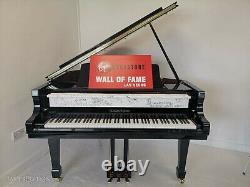 Extremely Rare Autographed Piano Signed by Michael Jackson, Elton John + 38 More