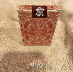 Federal 52 Kings Wild Jackson Robinson Playing Cards 11 Decks Sealed Autographed