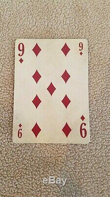 Federal 52 Playing Cards Jackson Robinson 2nd Edition Letterpress Signed Card