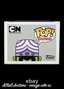 Funko POP! Powerpuff Girls Mojo Jojo Signed by Roger L. Jackson JSA