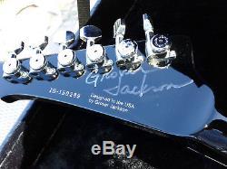 GJ2 Inspiration Series Concorde Electric Guitar GROVER JACKSON SIGNED R Rhoads