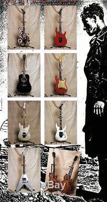 Gary Moore's personal white 1987 USA Charvel Jackson Soloist Custom Hand signed