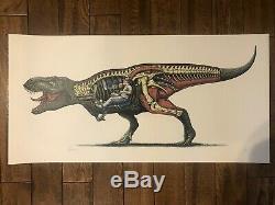 Hammonds Revenge Paul Jackson Jurassic Park Poster Print Signed/numbered T Rex