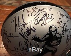 Heisman Autographed Silver Combo Helmet PSA Jackson Mariota Henry Staubach Brown