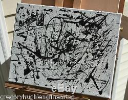 JACKSON POLLOCK'S INSIGHT ORIGINAL Painting by American Artist LENG