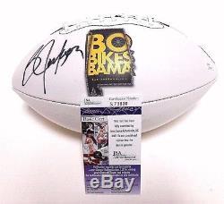 JSA Bo Jackson SIGNED Autographed Auto NIKE Football Oakland Raiders Bikes Bama