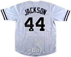 JSA Witness COA Reggie Jackson HOF NY Yankees Signed Autographed Baseball Jersey