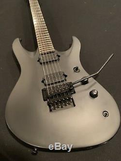 Jackson Chris Broderick Pro Flat Black 6 String SIGNED Guitar
