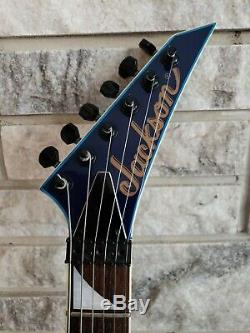 Jackson Dk2 Dinky Blue with Flames, Signed made in Japan