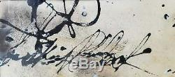 Jackson Pollock American Hand Signed Abstract Expressionist De Kooning Rothko Er