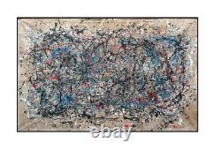 Jackson Pollock Original Drip Painting on Barn Board 1946/7
