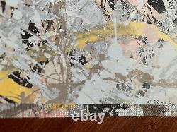 Jackson Pollock Original Signed Painting