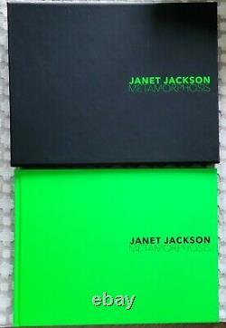Janet Jackson Metamorphosis signed autographed photo book number 186/200