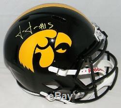 Josh Jackson Autographed Signed Iowa Hawkeyes Full Size Speed Helmet Jsa