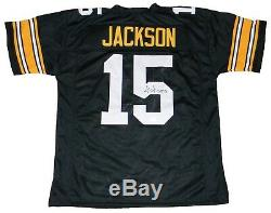 Josh Jackson Signed Autographed Iowa Hawkeyes #15 Black Jersey Jsa