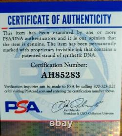Justin Jackson North Carolina Tar Heels Autographed Jordan Jersey PSA/DNA Certed