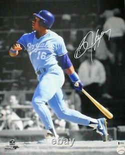 KC Royals BO JACKSON Signed 16x20 Kansas City Photo #2 AUTO Beckett