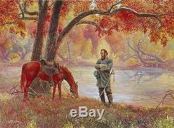 KÜNSTLER CROSS OVER THE RIVER Civil War Stonewall Jackson Bonuses SOLD OUT/RARE