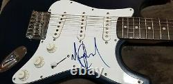King of pop Michael Jackson signed Autographed Authenticated Squire Guitar