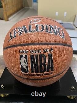 Kobe Bryant, Shaquille ONeal & Phil Jackson Signed Basketball W 2 COA